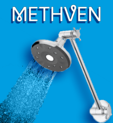 Methven Kiri Satinjet Ultra Low Flow 4.5 Litre premium showerhead